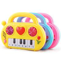 【悦乐朵玩具】儿童益智早教迷你小号电子琴玩具 婴幼儿启蒙弹奏音乐钢琴1-3-6岁宝宝玩具