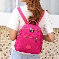 韩版防水尼龙女包牛津布双肩包女学院风书包背包大容量旅行包小包