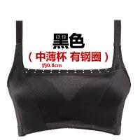 夏季防走光带抹胸式文胸中薄款小胸聚拢内衣胸罩无痕裹胸式女胸衣