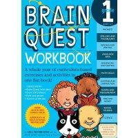 英文原版 Brain Quest Workbook Grade 1  智力开发系列:1年级练习册
