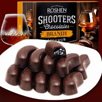 【一件五折 包邮】汉馨堂 酒心巧克力 150g黑巧克力休闲零食情人节送女友新年糖年货礼盒装