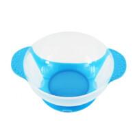 W 婴儿碗软头勺子宝宝吸盘碗感温勺新生儿童训练辅食碗儿童防摔餐具B31