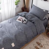 被子床垫床单枕头六件套全棉学生床单被套宿舍床上三件套寝室纯棉单人被褥套装六件套被单