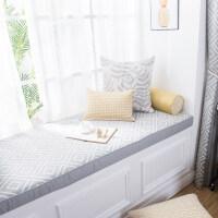 北欧飘窗垫窗台垫高密度海绵垫现代简约定做阳台垫榻榻米垫坐垫 布料每米的价格