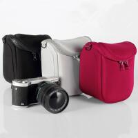 适用富士X100TX100FX30相机单肩包XA10 XA3 XT2 XT10 XE2/S 二代包包 银灰色