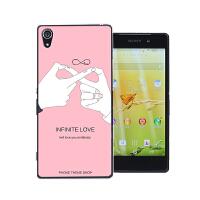 索尼Xperia z2手机壳l50t索尼L50U保护套插画男女款硬联通4G外壳