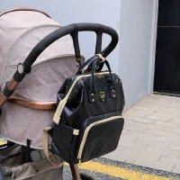 背包双肩包多功能育婴包轻便简约户外休闲背包大容量母婴背包