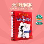 【顺丰速运】Diary of a Wimpy Kid #1小屁孩日记1进口英文原版小说送音频 美国初中小学生7-12岁
