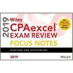 【预订】Wiley CPAexcel Exam Review 2019 Focus Notes: Auditing a