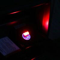 汽车led氛围灯点烟器装饰灯免改装气氛灯车室内车载小夜灯usb通用