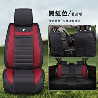 汽车坐垫四季通用全包四季垫麻布艺车冬季座垫座椅套汽车座套