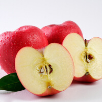 【包邮】延安洛川高原有机红富士苹果5斤装(75商品果)