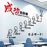 【支持礼品卡】励志墙贴纸海报纸办公室房间装饰品贴画教室布置文化墙纸自粘墙面3zs