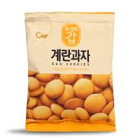 韩国青佑 鸡蛋小圆饼干高钙儿童营养磨牙饼干宝宝零食食品进口60g