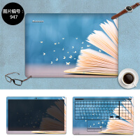联想小新air12 13pro 710S笔记本贴膜外壳膜Y430P 720电脑贴纸 SC-947 三面+键盘贴