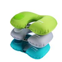 旅行枕头便携飞机头枕颈椎护颈办公室靠枕按压充气脖子u型枕