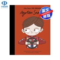 英文原版 小男孩,大梦想:埃尔顿・塞纳 Ayrton Senna 名人传记 Little People, BIG DRE