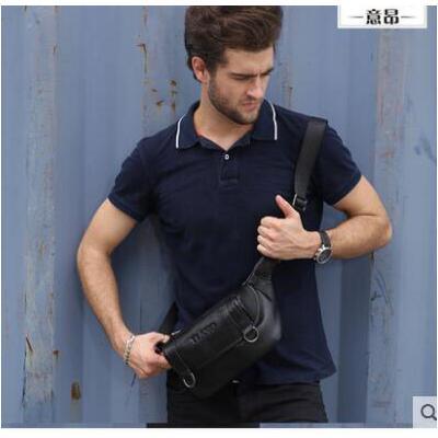 户外运动腰包女挎斜挎小包 多功能便携包青年胸包潮款 品质保证 售后无忧 支持货到付款