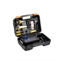 汽车充气泵便携式小轿车双缸高压车胎打气泵12v汽车用