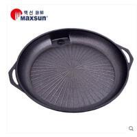 户外家用烧烤肉火锅盘S烧烤盘烧烤用品卡式炉韩式圆形烤盘