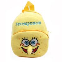 可爱小黄人宝宝背包1-3岁2女孩婴儿童幼儿园书包毛绒男双肩包包潮