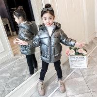 3儿童洋气4秋冬装女童棉衣外套7冬天衣服加厚5小孩子6女孩棉袄8岁
