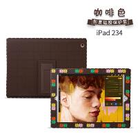 创意积木2018新款ipad保护套网红儿童苹果mini5/4/3平板电脑air2/1硅胶防摔9.7卡
