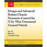 【预订】Design and Advanced Robust Chassis Dynamics Control for