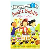 英文原版 Amelia Bedelia Takes the Cake[4-8岁]