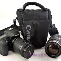 佳能单反相机包三角包EOS60D 6D7D 70D80D 5D2 5D3便携单反包腰包