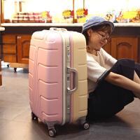 拉杆箱万向轮行李箱铝框箱包密码箱20寸登机箱24寸可爱行李箱SN4286