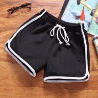 跑步运动短裤男健身速干三分夏季马拉松训练女大码宽松5XL篮球裤917