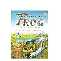 进口原版 Frog Went A-Courtin' 青蛙先生的婚礼 [平装] [4-8岁]