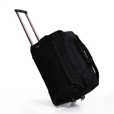 手拉包拉杆包女男士旅行包尼龙旅行袋大容量防水可折叠行李包