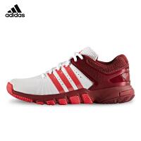 阿迪达斯Adidas 羽毛球鞋 休闲透气跑步2017新款女款运动鞋