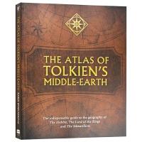 托尔金中土世界地图设定集 英文原版书 The Atlas of Tolkien's Middle-earth 指环王
