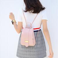 时尚潮流双肩包学院风百搭多功能迷你背包单肩女包斜挎手提小书包