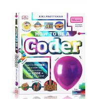 【全店300减100】如何成为一名程序员 How To Be A Coder 英文原版精装 百科读物电脑编码操作图形图解