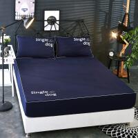 ???床笠单件防滑床罩席梦思保护套防尘罩床垫罩床套1.5/1.8米床单