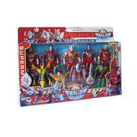 20180523195154216欧布奥特曼玩具银河赛罗迪加怪兽组合迷你变身器超人礼物套装