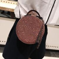手提包女包包新款时尚韩版斜挎包可爱小包包单肩斜挎小圆包萌