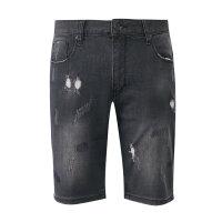 【1件2折到手价:30】美特斯邦威牛仔短裤男夏季新款韩版ulzzang潮流中短裤商场款