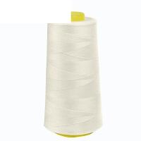 缝纫线宝塔线家用手缝细线彩色402白线涤纶缝衣线衣服针线 乳白色 5006
