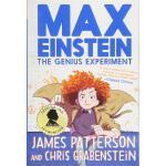 英文原版 马克斯・爱因斯坦:天才实验 儿童冒险科学小说 Max Einstein: The Genius Experi