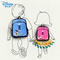 迪士尼小学生书包男孩女童1-3年级4-6儿童背包6-12周岁米奇双肩包