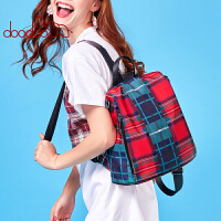 【支持礼品卡】doodoo双肩包女2019新款韩版百搭学院风旅行背包时尚学生书包女包A8060女包单肩包手提包斜跨包可