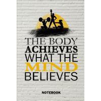 【预订】Notebook: Mom Muscle Quote Fitness Journal - Empty Lined