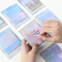 10本装便利贴可爱创意学生用小清新书签贴纸韩国n次贴便贴纸