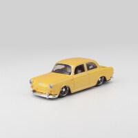 儿童玩具1:64合金小车模仿真大众�e克福特野马奔驰汽车模型 1967大众 VW1500 后盖可开059