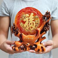 福摆件电视柜酒柜客厅房间装饰品 创意家居 中国风工艺品